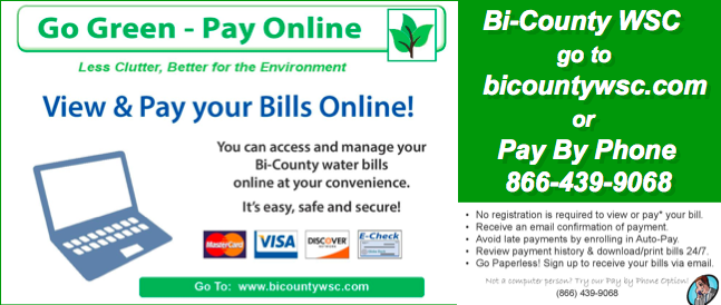BiCounty Online Bill Pay